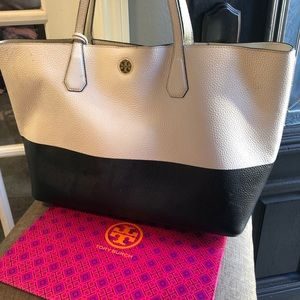 Tory Burch Perry Colorblock Tote